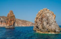 Felsen-Insel Lizenzfreie Stockbilder