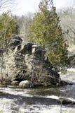 Felsen-Insel 1 lizenzfreies stockbild