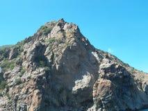 Felsen, Jalta, im Schwarzen Meer Stockbilder