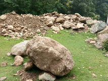 Felsen-Kaschmir-Tal Lizenzfreie Stockbilder