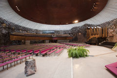 Felsen-Kirche Lizenzfreies Stockfoto