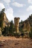 Felsen-Kontrollturm lizenzfreie stockbilder