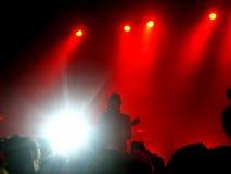 Felsen-Konzert Lizenzfreies Stockbild