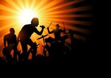Felsen-Konzert Lizenzfreie Stockbilder