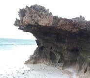 Felsen-Kopf Stockfoto