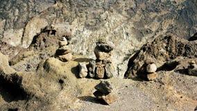 Felsen-Kunst in Hawaii lizenzfreie stockfotografie