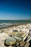 Felsen, Meer und Land Lizenzfreie Stockbilder