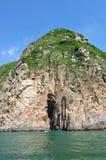 Felsen mit Höhle Lizenzfreie Stockbilder