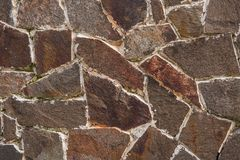 Felsen mit Moos Musterbeschaffenheit der Natur Nahtlose Steinbeschaffenheit stockfoto