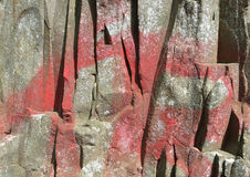Felsen-Oberflächenbeschaffenheit des Hintergrund-0010 Stockbild