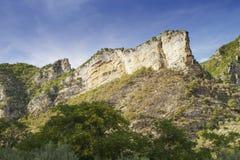 Felsen in Provence Stockfotografie