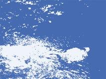 Felsen-, Sand-und Wasser-Vektor maserte Hintergrund vektor abbildung