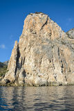 Felsen in Sardinien Stockbilder