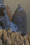 Felsen am Sonnenaufgang Lizenzfreie Stockbilder