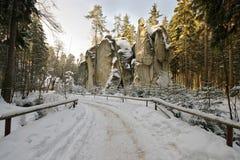 Felsen-Stadt Lizenzfreies Stockbild