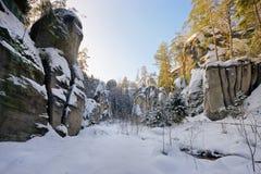 Felsen-Stadt Lizenzfreie Stockfotos
