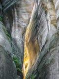 Felsen-Stadt Nationalpark von Adrspach-Teplicefelsen Lizenzfreies Stockbild