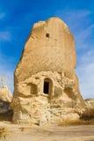 Felsen-Standorte von Cappadocia, Kapadokya, die Türkei stockfoto