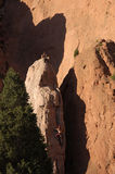 Felsen-Steigen stockfoto