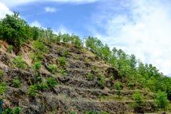 Felsen-Steigung Lizenzfreies Stockbild