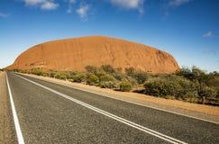 Felsen Uluru Ayers Lizenzfreie Stockfotos
