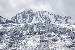 Felsen und Eis Lizenzfreie Stockbilder