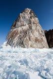 Felsen und Eis Stockbild