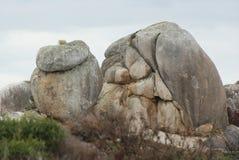 Felsen und Flusssteine Stockfotografie