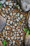 Felsen und Kies Stockfoto