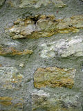 Felsen-und Mörser-Wand Lizenzfreies Stockfoto