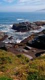Felsen und Meer Stockfotografie
