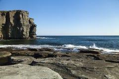 Felsen und Meer Lizenzfreie Stockfotos