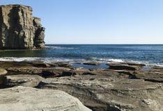 Felsen und Meer Stockfoto