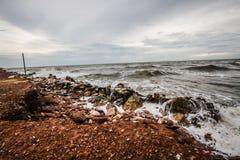 Felsen und Meer Lizenzfreie Stockfotografie