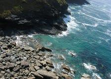Felsen und meeres- Küste Lizenzfreies Stockbild
