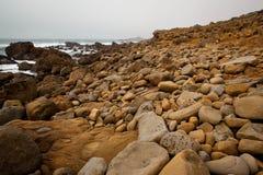 Felsen und Ozean Stockbild