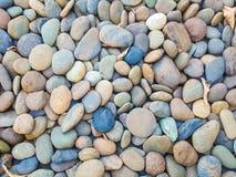 Felsen und Steine als Hintergrundbeschaffenheit Stockfotografie
