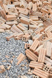 Felsen und Ziegelstein Lizenzfreies Stockfoto
