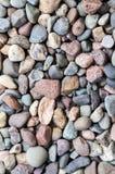 Felsen vieler Farben Stockfotografie