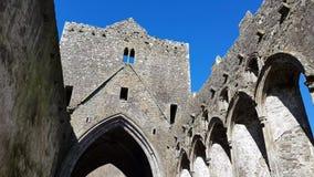 Felsen von Cashel, Irland stock video footage