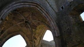 Felsen von Cashel, Irland stock video