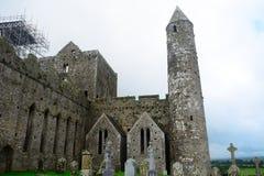 Felsen von Cashel, Irland Lizenzfreies Stockbild
