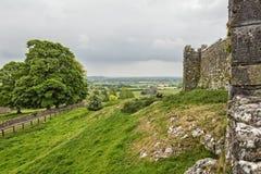 Felsen von Cashel-Landschaft - Irland Stockbild