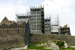 Felsen von Cashel unter Erneuerung Stockbild