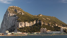 Felsen von Gibraltar stock video footage