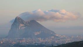 Felsen von Gibraltar stock video footage