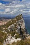 Felsen von Gibraltar Lizenzfreie Stockbilder