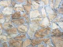 Felsen-Wand-Beschaffenheit, Steinwand-Hintergrund Stockfoto