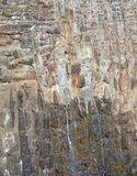 Felsen-Wand der jahrhundertalten Verdammung Lizenzfreie Stockbilder