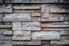 Felsen-Wandziegelstein des Hintergrundes alter/Wandsteinbeschaffenheit Lizenzfreies Stockbild